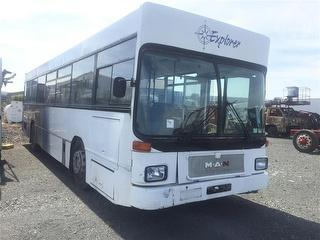 1987 MAN SL202 BUS *** Auckland Athy Place ***all around damage*** GVM 16,600kg Photo
