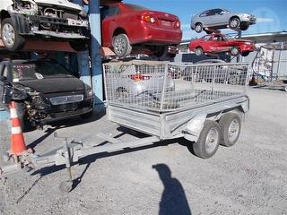 2013 Briford 8X4 Tandem Trailer (Box/Domestic) *** Christchurch ***All over damage *** Photo
