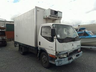 1999 Mitsubishi Canter FE112E1 Chiller Box Body *** Auckland Athy Place *** GVM 5,700kg Photo