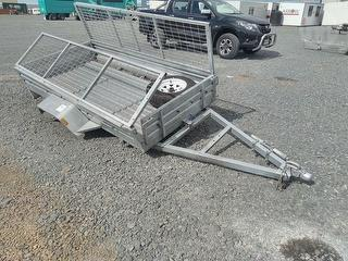 2019 Trailer 8X4 Vulcan Trailer ( Cage) *** Auckland *** All Over Damage *** Rollover Damage*** Photo