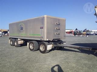 2014 Mills-tui F124 Tipping Trailer *** Athy Place Auckland *** Photo
